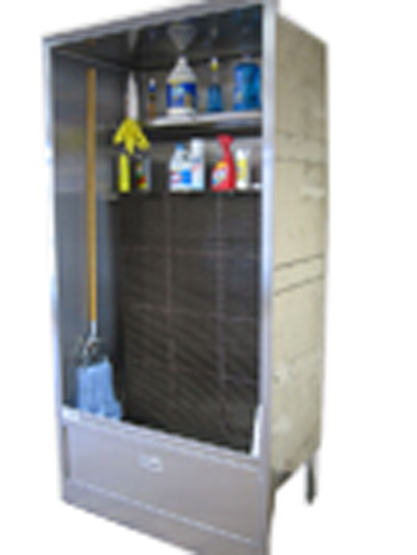 Mop Sink Cabinet : ENCLOSURE MOP (SERVICE) SINK 94